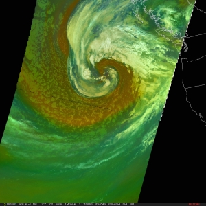 Aqua MODIS RGB Air Mass image from 1130 UTC on 09/23/14.